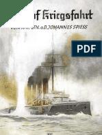 U9 auf Kriegsfahrt, Kapitänleutnant a.D. Johannes Spiess (1938)
