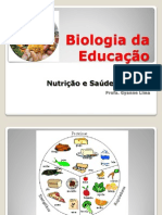 Biologia da Educação nutrição e saude do corpo