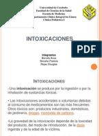 Intoxicación en Pediatria 2010 grupo3