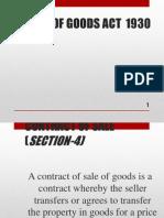 Sales of Goods