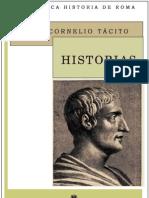 Tacito Cayo Cornelio - Historias - Historiae (Bilingue)