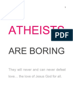 Atheists Are Boring