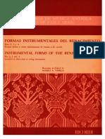 Formas Instrument Ales Del Renacimiento(Partituras en PDF)by Ec