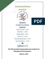 International Business case study