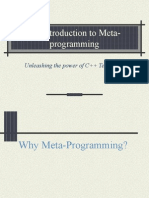 C++ Meta Programming