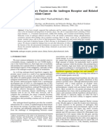The Effects of Dietary Factors on the Androgen Receptor and Related Cellular Factors in Prostate Cancer