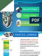 E Garbage Presentation