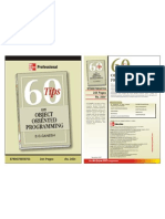 """60 tips on object oriented programming"" Brochure"