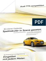 Audi TTS competition Product Catalogue