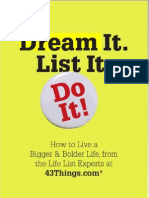 Dream It List i Do It
