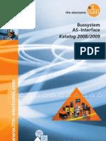 Bussystem AS-Interface - Katalog Deutsch 2008/2009