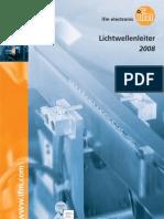 Lichtwellenleiter und Verstärker - Katalog Deutsch 2008