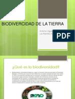 Biodivercidad de La Tierra