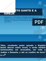 O ESPÍRITO E A IGREJA.ppt