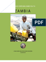 Peace Corps Zambia Welcome Book June 2013