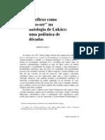 Sérgio Lessa - O reflexo do não ser na ontologia de Lukács