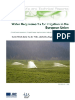 LBNA23453ENC_002 JRC Scientific and Technical Reports  Water Requirements for Irrigation in the