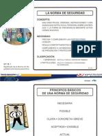 10. La norma y la señalizacion de seguridad ST.IX
