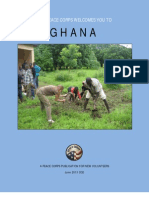 Peace Corps Ghana Welcome Book - June 2013