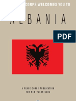 Peace Corps Albania Welcome Book - August 2013