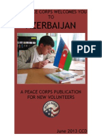 Peace Corps Azerbaijan Welcome Book - June 2013
