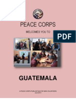 Peace Corps Guatamala Welcome Book - June 2013