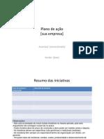 Modelo Plano de Acao