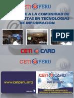 Ceti Card Info