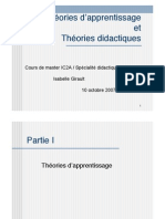 Theories Apprentissage
