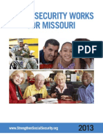 Social Security Works for Missouri 2013