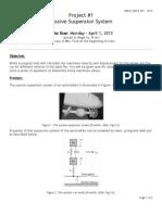 P2 - Passive Suspension System