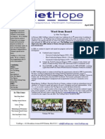 VietHope Spring Newsletter_2009