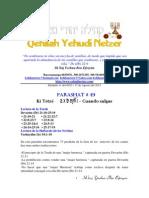 Parashat Ki Tetze # 49 Adul 6013
