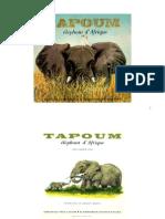 Père Castor Tapoum éléphant d'Afrique 1971
