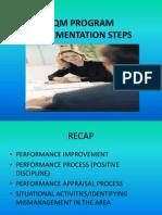 Tqm Program Implementation Steps