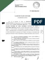 Laudo 2828 2006, do Instituto Nacional de Crimanlística da PF
