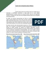 Descripción de la Industria aérea Chilena