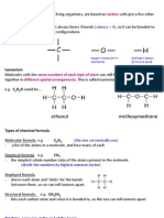 IGCSE Chemistry Definitions | Chemical Reactions | Hydrocarbons