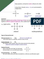 IGCSE Chemistry - Organic Chemistry