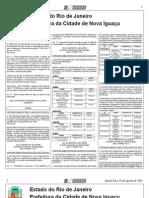 diario oficial de nova iguaçu de 15 de agosto de 2013.