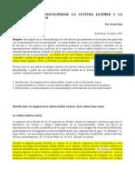 EXCESOS DE LA MASCULINIDAD- LA CULTURA LEATHER Y LA CULTURA DE LOS OSOS.pdf