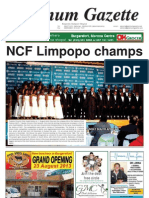 Platinum Gazette 16 August 2013