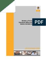 Educacion Jovenes y Adultos