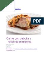 Carne Con Cebolla