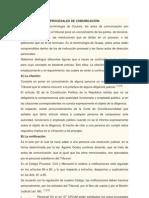 CLASIFICACIÓN DE LOS ACTOS PROCESALES DE COMUNICACIÓN