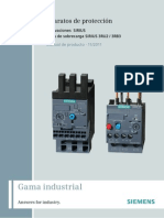 Manual SIRIUS Innovations Overload Relay 3RU2 3RB3 Es-MX
