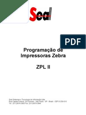 Zebra Zpl Manual Portugues