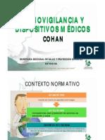 Cohan - Tecnovigilancia y Dispositivos - Dssa