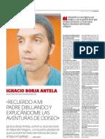 Entrevista a Ignacio Borja Antelo