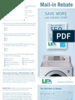Rebate Washers